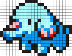 Phanpy Pokemon Bead Pattern Perler Bead Pattern / Bead Sprite