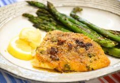 Baked Red Snapper with Garlic fillets are seasoned with a little Cajun seasoning and garlic, lightly breaded and drizzled with melted butter. Quick & Easy!