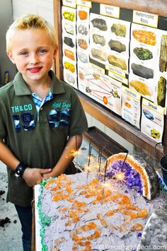 Geologist + Geology + Rock Themed Birthday Party - Kara's Party Ideas - The Place for All Things Party