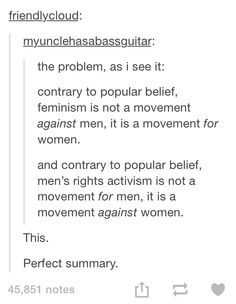 feminism and men's rights activism
