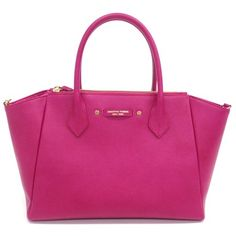 Skip the lock, instead we have a logo. Another hot pink bag.  サマンサタバサニューヨーク アゼル: マゼンダ