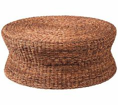 Grass Roots Lanai Round Rattan Coffee Table   55DowningStreet.com