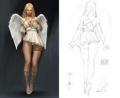 The amazing digital art Female Character Design, Character Drawing, Character Design Inspiration, Character Illustration, Character Concept, 3d Character, Fantasy Art Women, Fantasy Girl, Anime Poses Female