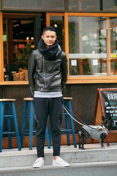 ライダーズジャケットで、ラフなスタイルを締める | 37.5歳からのファッション&ライフスタイルマガジン|OCEANS