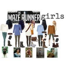 The Maze Runner girls :) - Polyvore