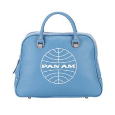 Love this tote.  Great for weekender, whimsical purse, carry on for quick trip. And some of us actually remember and maybe even flew this carrier!