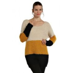 http://www.salediem.com/shop-by-size/small/color-block-knit-long-line-sweater.html #salediem #fallsweater