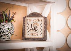 Kitchen hanger towel home decor wall storage by TimeForStitch