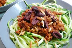 Courghetti bolognese recept, vegan natuurlijk ~ lekker, makkelijk, koolhydraatarm ~ www.con-serveert.nl