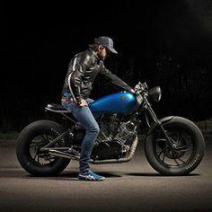 Yamaha XV 750 - Cafe Racer