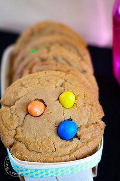 Mes Folles Gourmandises: The best cookies M&M's in the All Wide Web !!