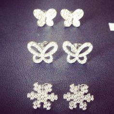EARRINGS Diamond Earrings, Stud Earrings, Silver Jewelry, Ear Gauge Plugs, Stud Earring, Diamond Stud Earrings, Diamond Drop Earrings, Silver Jewellery