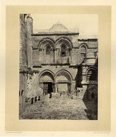 Bonfils. Palestine, Jérusalem, Eglise du Saint Sépulcre     #Orient #Palestine_Palestina