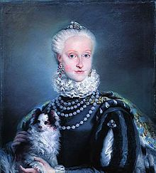Maria Josefa of Spain (1744 - 1801). Daughter of Charles III and Maria Amalia of Saxony. She never married.