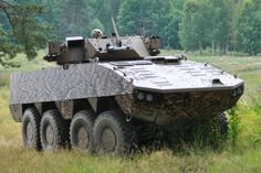 Finnish Patria AMV XP Infantry Fighting Vehicle [1080p]