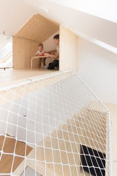 Sleep and play interior by Ruetemple in Moscow Russia