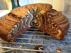 Zebra Cake Cross Section