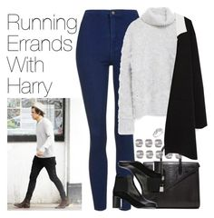 """Running Errands with Harry"" by onedirectionimagineoutfits99 ❤ liked on Polyvore featuring Topshop, Yves Saint Laurent, Zara, See by Chloé and Reeds Jewelers"