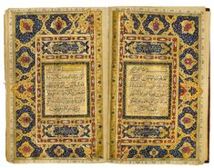 "2/3 ""A large Persian Qu'ran, 19th century"" means it was created in Persia . . the language is Arabic - it is a Qur'an. Scholarship recognizes that in translating, choices are made & original meaning can changed. A room full of native speakers of Arabic will disagree about the meaning of a verse of revelation. . .imagine how this is compounded by translation, or of translation of translations. This is not about being picky or nit-picking. It's about the role of scholarship in Islam. (A…"