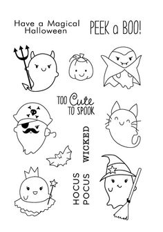 Look what I found on AliExpress Halloween Doodle, Halloween Drawings, Theme Halloween, Halloween Pictures, Fall Halloween, Doodle Drawings, Doodle Art, Easy Drawings, Scrapbooking