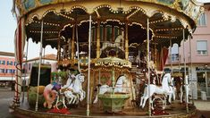 Carousel, Fair Grounds, Travel, Pictures, Objects, Viajes, Destinations, Traveling, Carousels