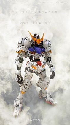 GUNDAM GUY: 1/100 Gundam Barbatos - Photoshop Images