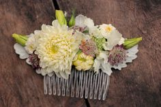 Early September bridal comb