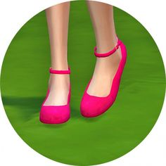 Ankle strap flat shoes at Marigold • Sims 4 Updates