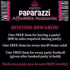 Hostess rewards, Paparazzi Accessories with Alicia Zeller Paparazzi Jewelry Images, Paparazzi Jewelry Displays, Paparazzi Photos, Paparazzi Accessories, Trendy Accessories, Mystery Hostess, Pearl Party, Paparazzi Consultant, Facebook Party