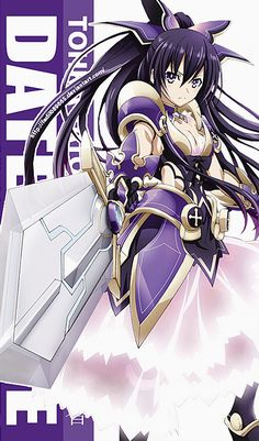 Date A Live Wallpapers Mobile : Tohka Yatogami by Date A Live, Anime Character Names, Anime Characters, Sword Art Online, Anime Date, Mysterious Girl, Live Picture, Fanart, Warrior Girl