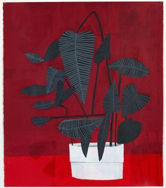 jonas wood-I love the leaves! Jonas Wood, Plant Art, Plant Illustration, Still Life Art, Matisse, Illustrations, Art Plastique, Painting Inspiration, Les Oeuvres