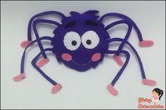 A dona aranha em feltro! <3