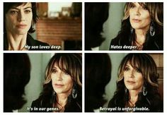 I hope Gemma remembers her words..I am sure once Jax finds out she killed Tara, it is over for the Queen....