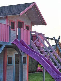 Beautiful wooden playhouse Wooden Playhouse, Play Houses, Park, Beautiful, Small Wooden House, Parks