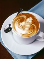 I just love some of the patterns people make on a latte; even if I didn't like coffee, it would make me want to drink it!
