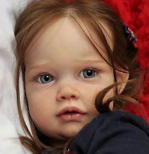 """New Reborn Baby Reborn Toddler Doll Kit ELLA MAE By Jannnie de Lange @25.5""""@"""