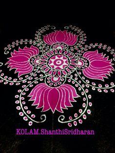 Rangoli Simple Rangoli Designs Images, Rangoli Ideas, Rangoli Designs Diwali, Rangoli Designs With Dots, Diwali Rangoli, Kolam Designs, Easy Rangoli, Beautiful Mehndi Design, Beautiful Rangoli Designs