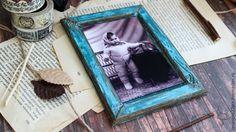Создаём винтажную рамку из переплётного картона - Ярмарка Мастеров - ручная работа, handmade