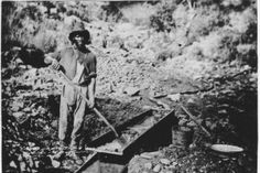A black miner in gold rush California. Historians estimate that between 600 to 1000 enslaved African Americans were forcibly transported to California . Places In California, California History, Gold Miners, Fraser River, Black Cowboys, Dark Roots, Picture Captions, African American History, History Facts