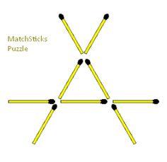 Form three touching triangles by moving exactly three match sticks? Logic Math, Math Problem Solving, Logic Puzzles, Logic Questions, Math Formula Chart, Logic And Critical Thinking, 7th Grade Math Worksheets, Math Talk, Math Challenge