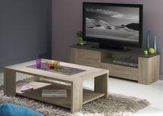 Lowboard Mit Couchtisch Eiche Natur Steinoptik Grau Woody 167 00226 Modern Jetzt Bestellen Unter Moebelladendirektde Wohnzimmer Tische