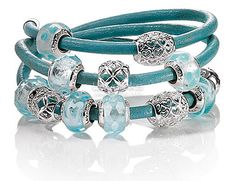 Aqua Lovelinks Jewelry USA - Pandora Compatible