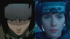 Image result for ghost in the shell comparison