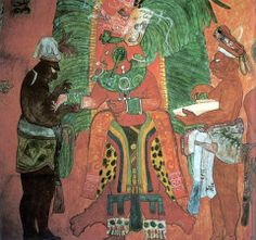 Mayan Lord, Bonampak, Chiapas. Mexico