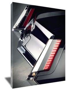 "1967 Cadillac Eldorado tail lights 16 x 20"" Canvas"