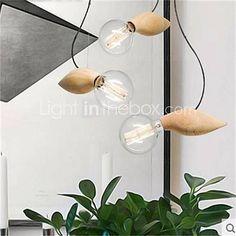 60w Rustiek/landelijk / Retro / Landelijk Lamp Inbegrepen Plafond ...