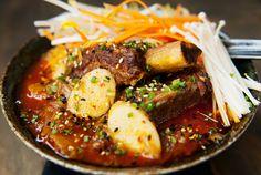 korean jjigae beef short rib kimchi stew recipe | use real butter