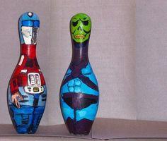 bowling pin art - Google Search
