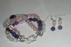Spring has Sprung Triple Strand Set by Suzanne Metcalf