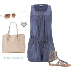 Love this look. So fun! 2015 Summer Lovin' by maurices on Polyvore featuring maurices